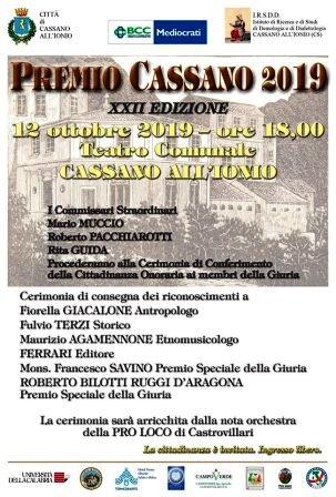 Premio Cassano 2019