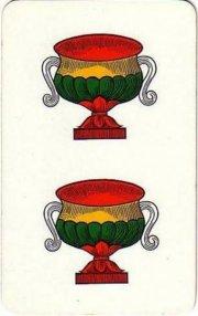 Due di coppe quando la briscola bastoni col due di for Due di bastoni carte napoletane