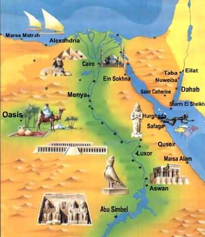 Medicina egizia su nefthi e l 39 egitto - Foto della mappa del mondo da stampare ...