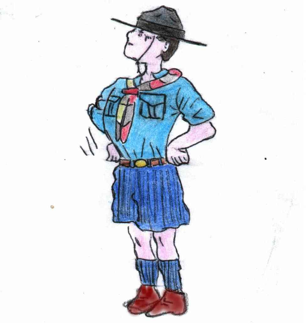 Mitrentasette armadio scout for Falda significato