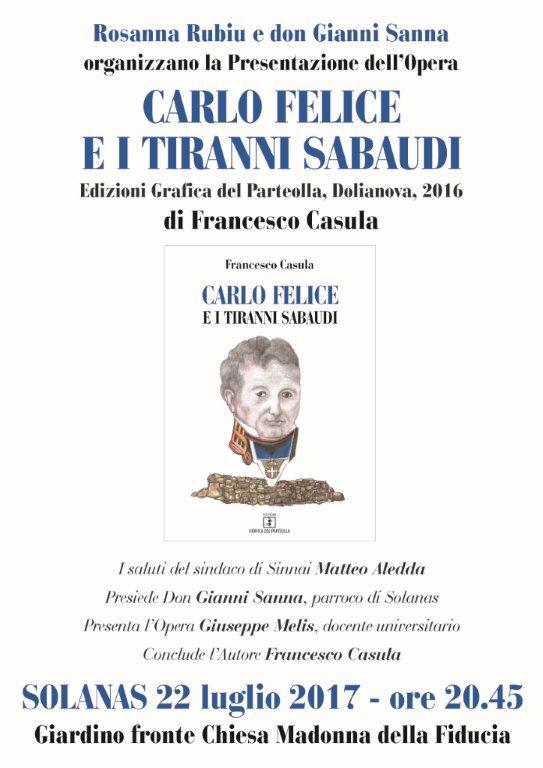 Locandina Carlo Felice Solanas[987]