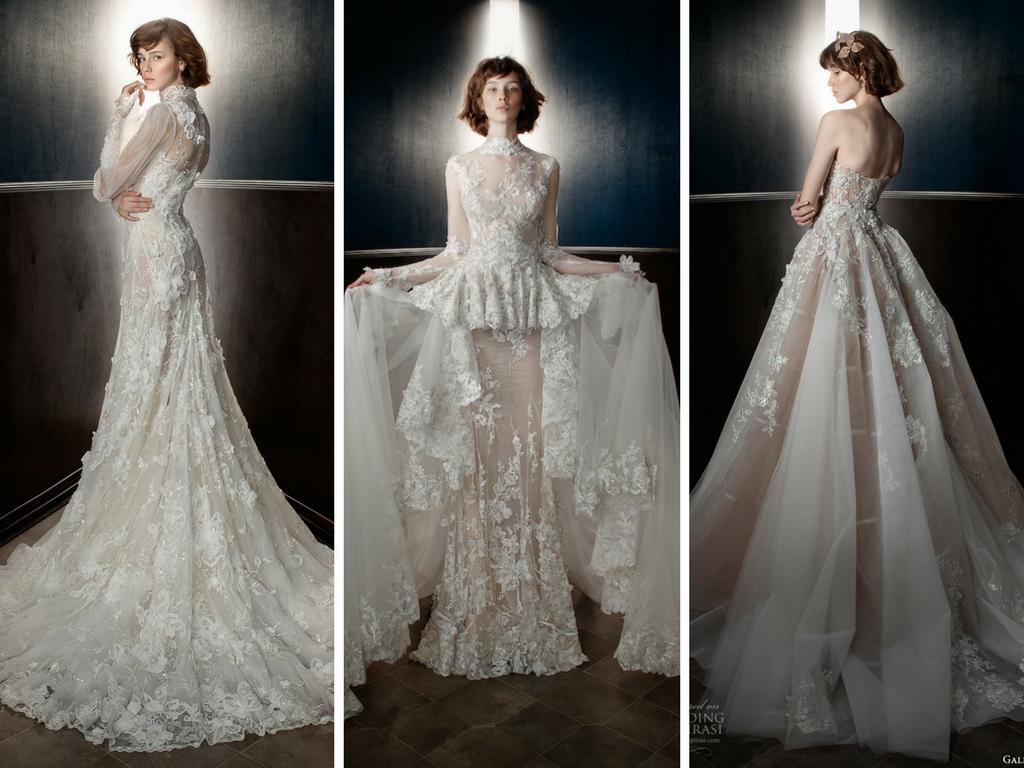 e53e002ce344 La seduzione romantica della collezione 2018 di Galia Lahav. galia-lahav -bridal-2018-salerno