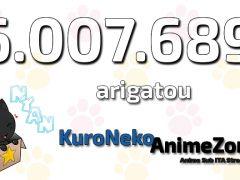 6milioni arigatou