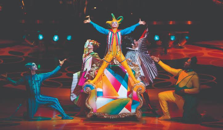Teatro – Intrattenimento Cirque du Soleil  Toruk