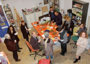 Gentile Polo e Associazione Culturale Piana Rotaliana: cena festeggiamenti decennale dell'Associazione.