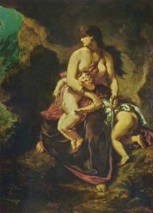 Eugène Delacroix - 1862 - Parigi, Louvre