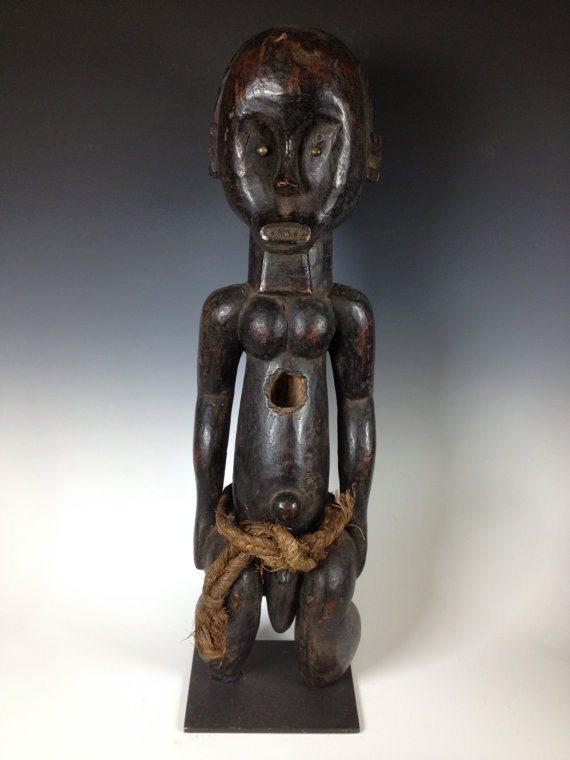 Statua di Fang del Gabon - Metá del XX Secolo - Legno