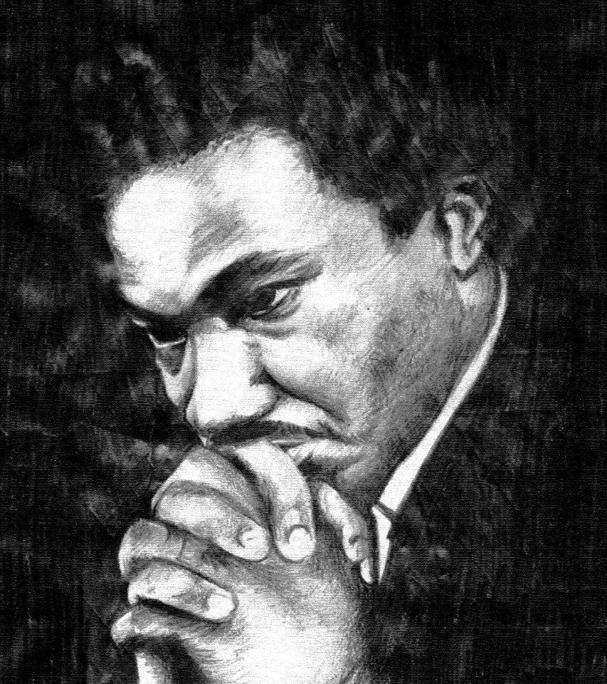 Nato dalla tempesta - MLK in preghiera