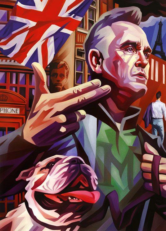 Evgeny Parfenov - Illustrazione realizzata per la rivista Rolling Stone.