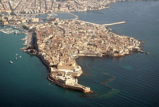 Siracusa - penisola di Ortigia