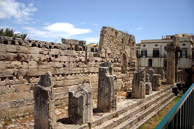 Siracusa - Tempio di Apollo