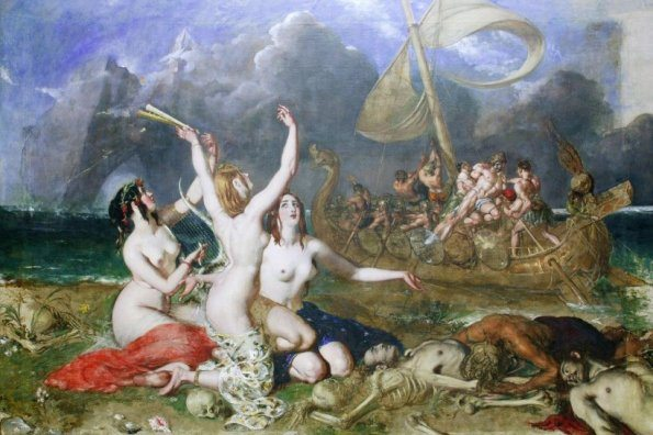 William Etty - Ulisse e le sirene - 1837