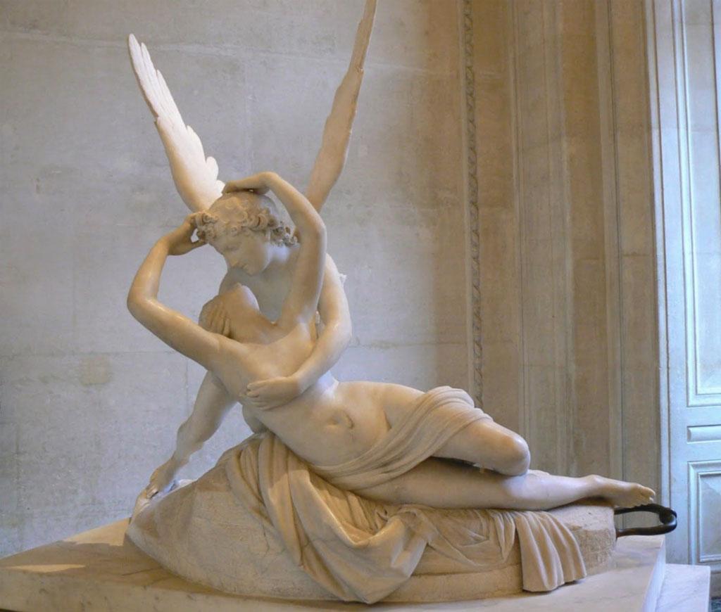 Amore e Psiche - 1787-1793 - Marmo - Museo del Louvre