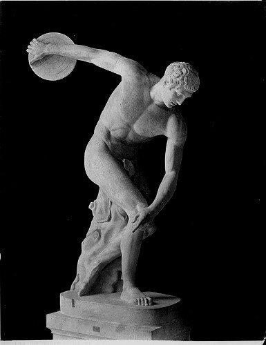 Discobolo - ca 480-460 a.C. - copia romana - Marmo - alt m. 1,56 - Museo Nazionale Romano, Roma