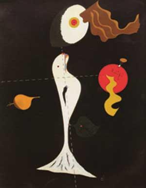 Joan Mirò - Nudo - 1926 - Filadelfia. Museum of Art