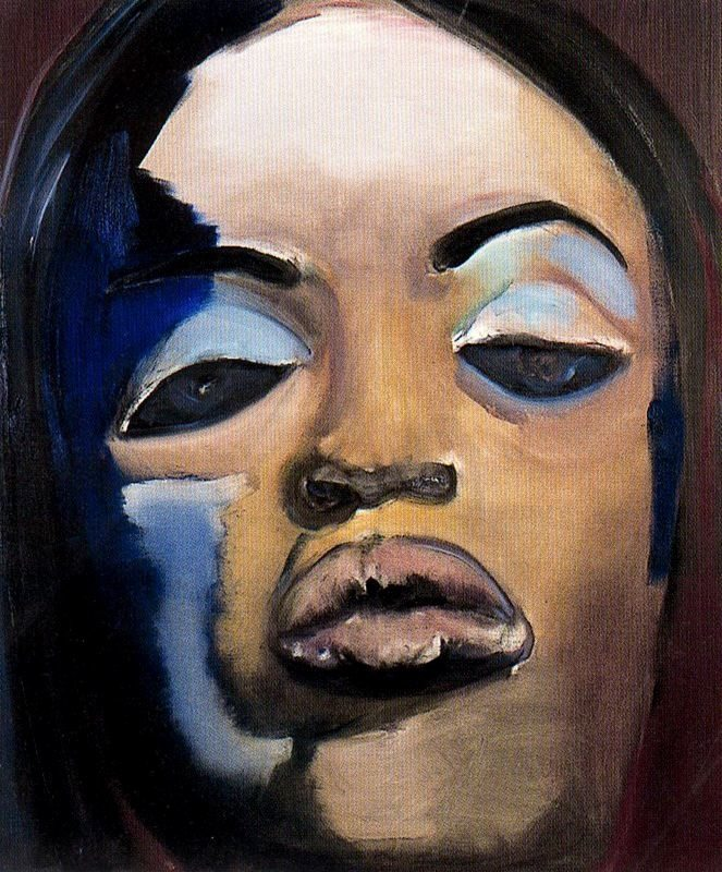 Marlene Dumas - Naomi - 1995 - Private Collection - Stedelijk Museum Amsterdam