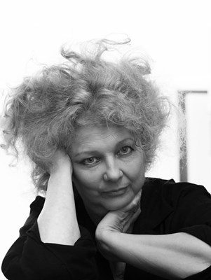Marlene Dumas PHOTO by Peter Cox