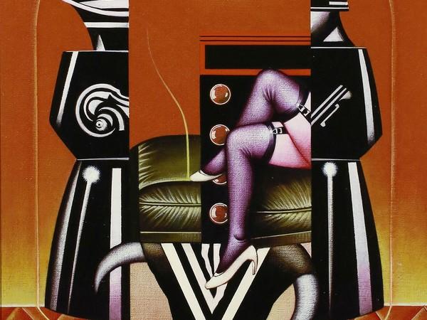 Il potere della macchina nelle opere di Sergio Sarri
