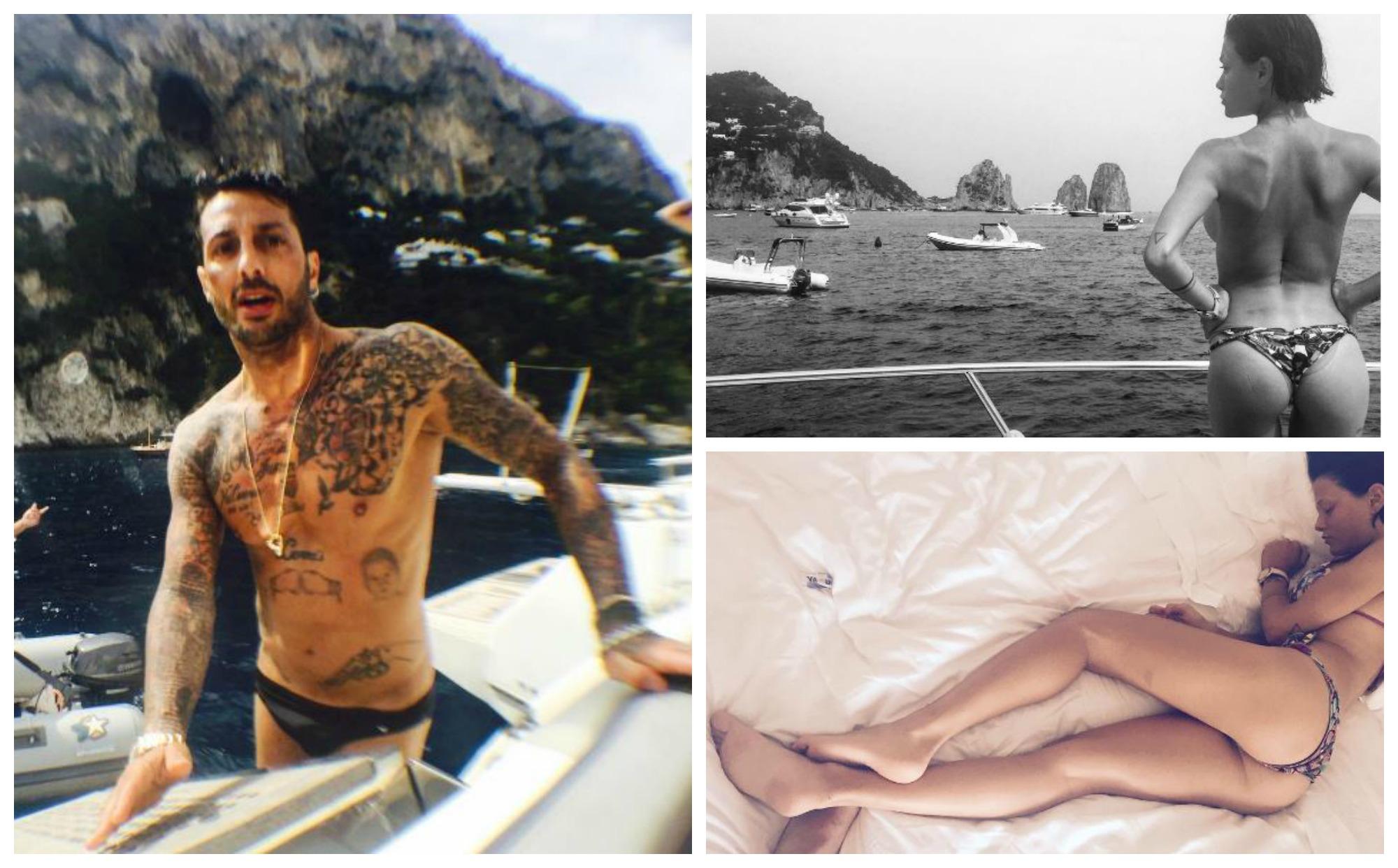 Fabrizio-Corona-e-Silvia-Provvedi-Foto-Instagram