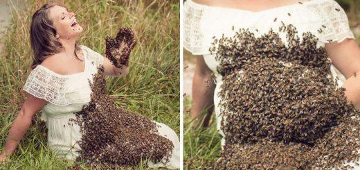 foto-donna-incinta-api-pancione-emily-mueller-fb