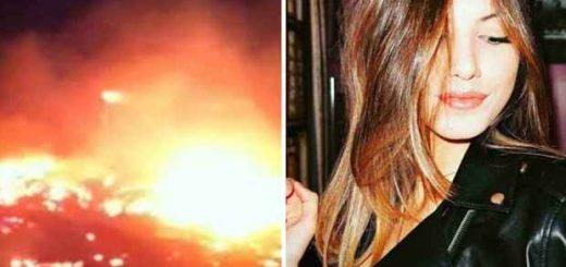 Incendio casa Lucrezia Terenzi aspirante Miss Italia sorella salva cane muore foto 20 gennaio 2018_20220013