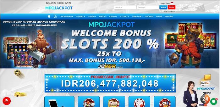 Situs Judi Permainan Slot Online Bonus Jackpot Terbesar