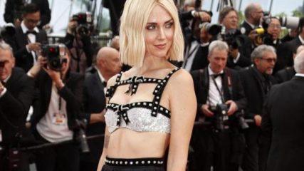 Chiara Ferragni, colpo di testa a Cannes