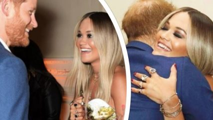 Meghan Markle resta a casa e il principe Harry abbraccia calorosamente un'altra: il gossip si scatena