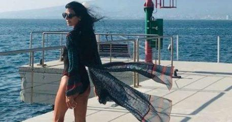 Pamela Prati si rigenera al mare dopo lo scandalo Mark Caltagirone: «Coraggio alzati e vola»