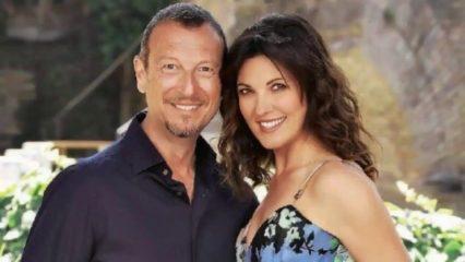 Amadeus e Giovanna Civitillo sposi: hanno detto sì in Chiesa dieci anni dopo le nozze civili