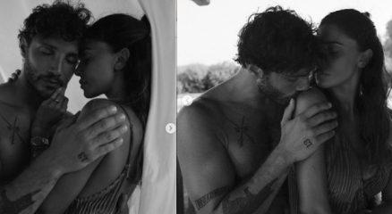 Belen e Stefano De Martino non convincono i fan, le foto scatenano polemiche: «Tutto finto»