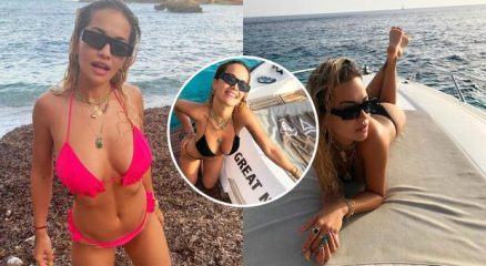 Rita Ora supersexy a Ibiza, la cantante e attrice manda in estasi i fan