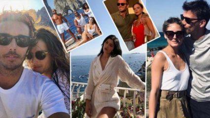 Da Beckham a Kylie Jenner, i vip scelgono le vacanze in Italia