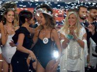 Miss Italia 2016 La vincitrice Rachele Risaliti Jesolo domenica 10 Settembre 2016 ANSA/RICCARDO DALLE LUCHE
