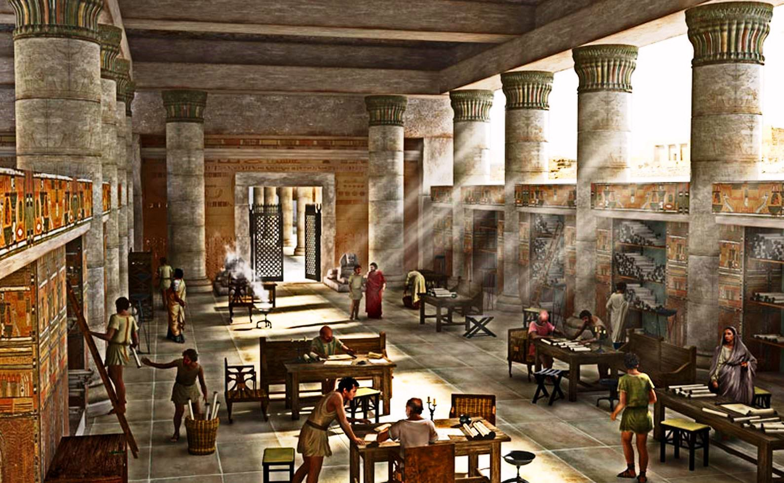 Biblioteca Alessandria Egitto