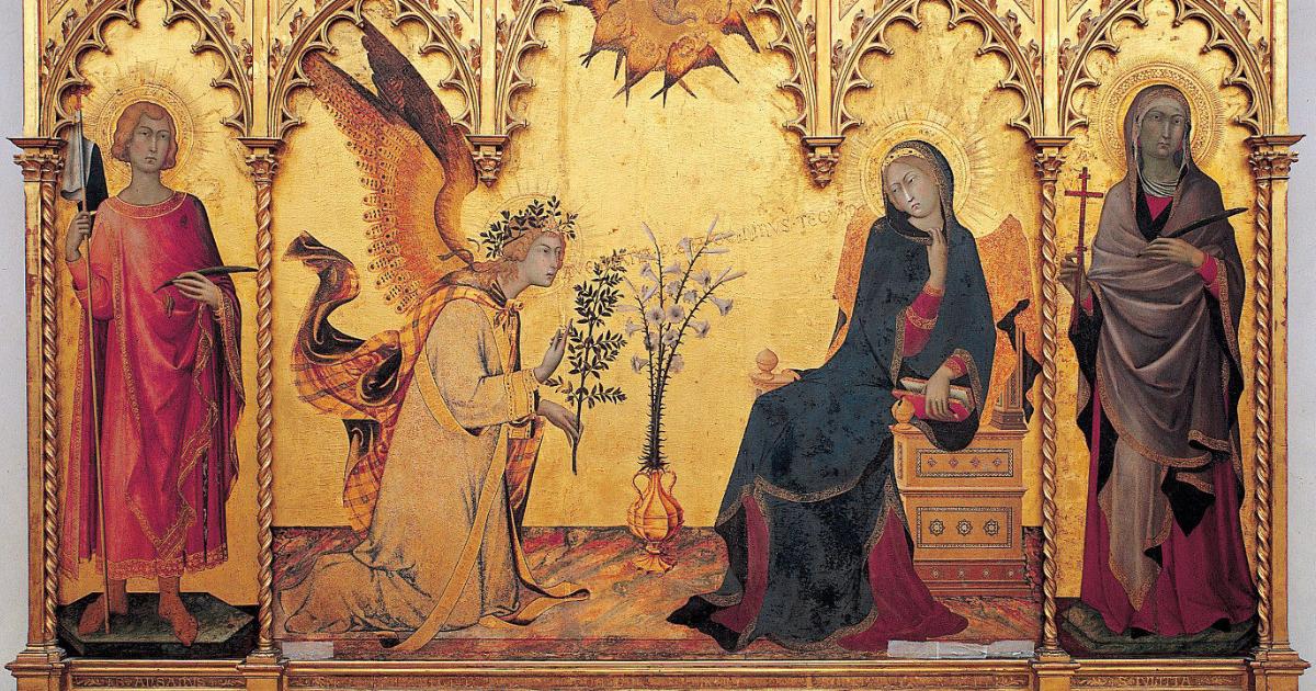 Simone Martini Annunciazione