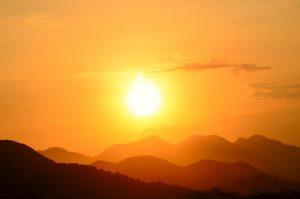 sun dies