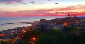 I colori dell'alba di Cariati!