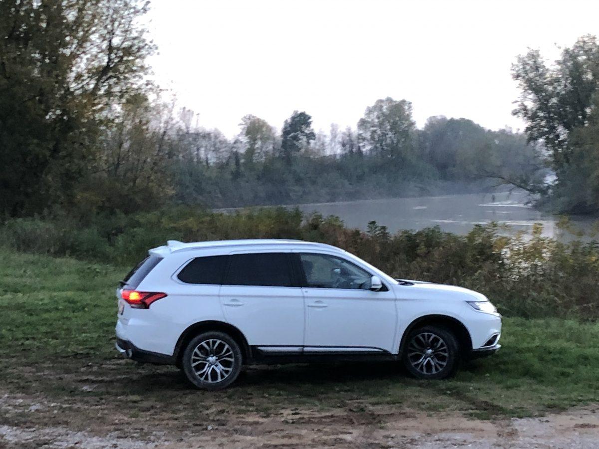 #testdrive #Mitsubishi Outlander un SUV che non teme il fuoristrada