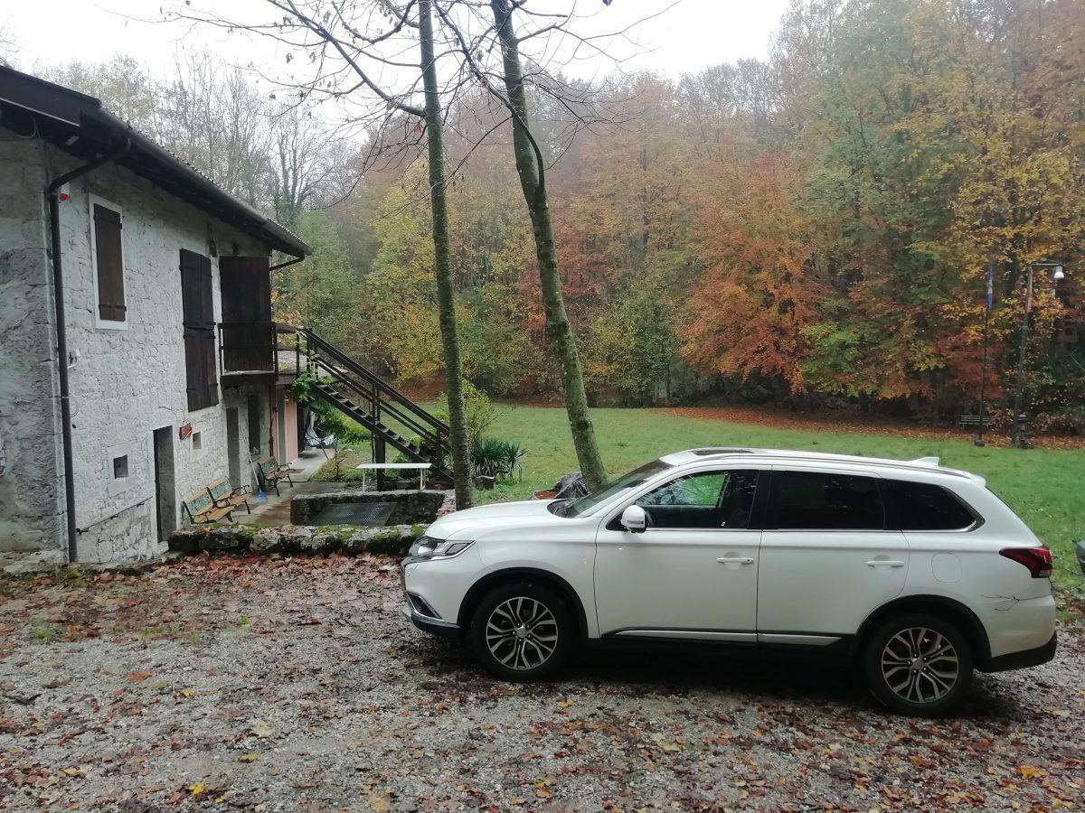 #testdrive #testroad #Mitsubishi #Outlander nei luoghi suggestivi della #montagna pordenonese