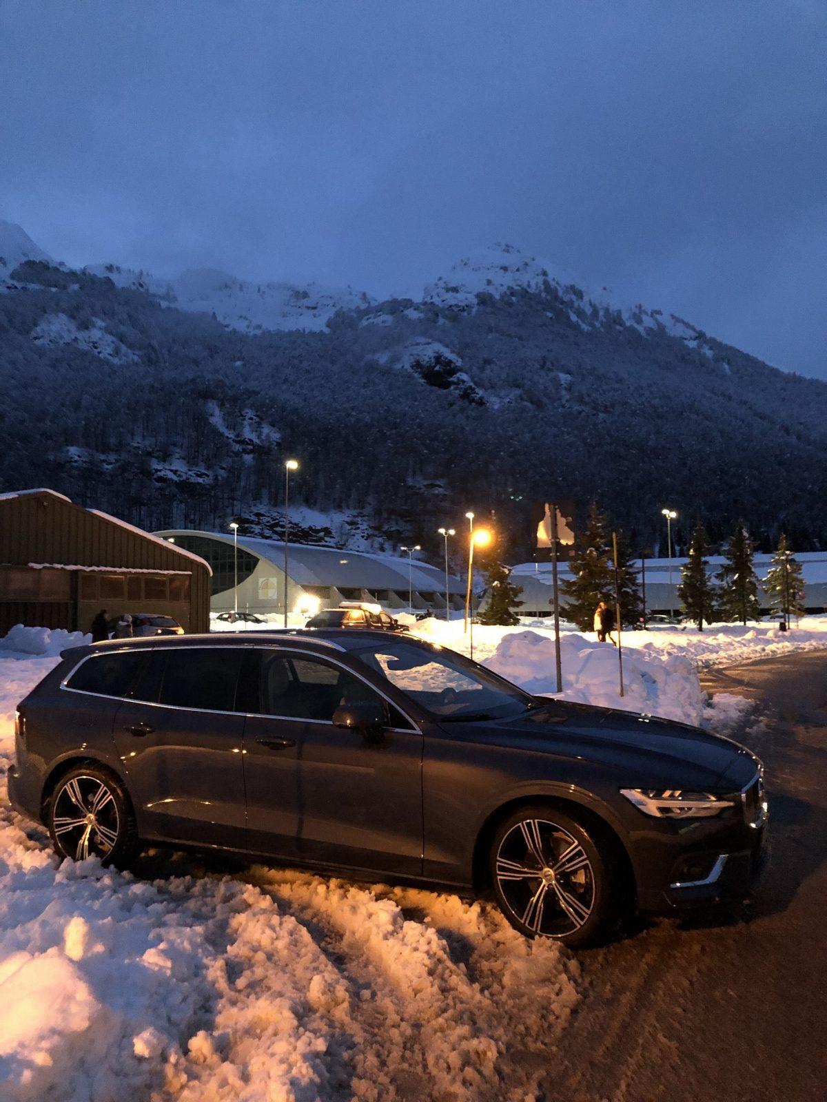 #testdrive  #Volvo #V60 comoda e spaziosa una familiare versatile e adatta anche ai percorsi invernali