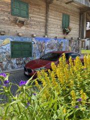 #testdrive #BMWGranCoupè208i in relax nella borgata dolomitica di Sappada