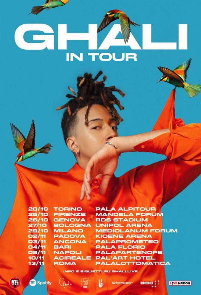 Biglietti Ghali Tour 2018