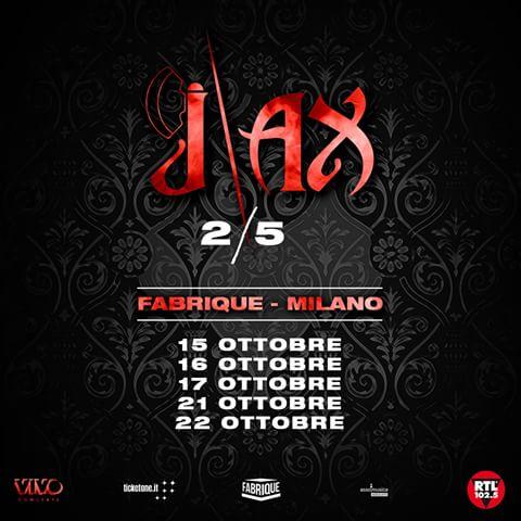 Biglietti J-Ax e Articolo 31 Tour 2019