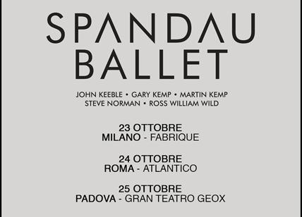 Biglietti Spandau Ballet