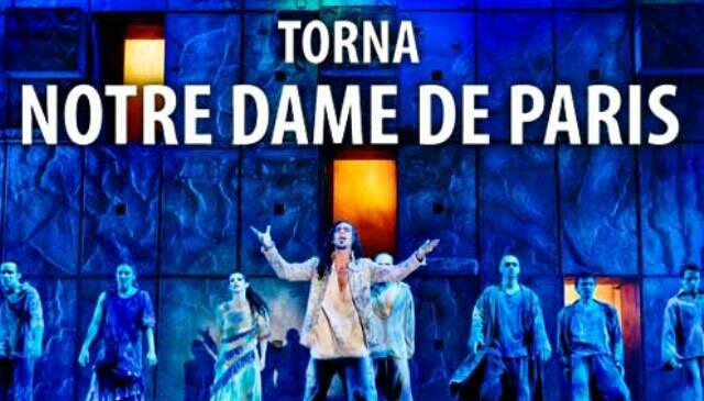 Biglietti Teatro Notre Dame de Paris 2019-2020