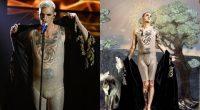 Sanremo 2020, Achille Lauro in mutande sul palco dell'Ariston. Fiorello fa incursione: «Voglio una foto con lui»