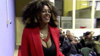 Sylvie Lubamba a Domenica Live: «Il fidanzato di Antonella Elia sta con lei solo per visibilità. E mi ha menata»