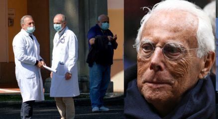Giorgio Armani converte gli stabilimenti per il coronavirus: produrrà camici monouso