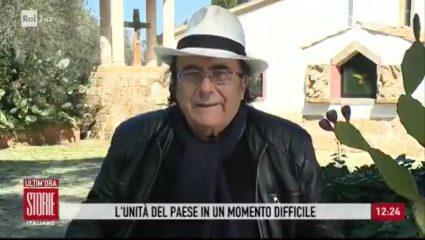 Al Bano, l'appello a Storie Italiane: «È la terza guerra mondiale, ma qualche furbetto fa finta di non capire»